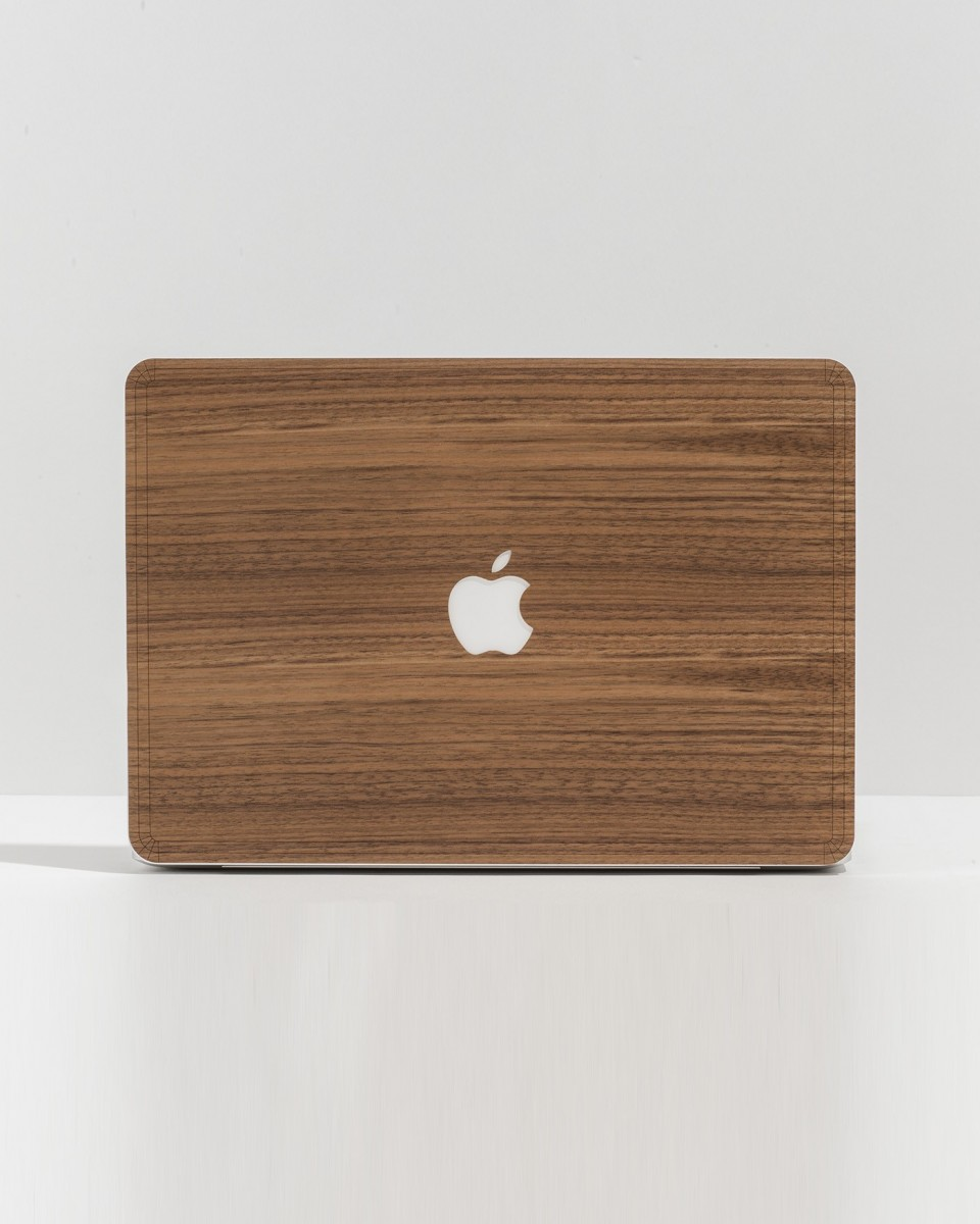 Macbook Skin - Walnut