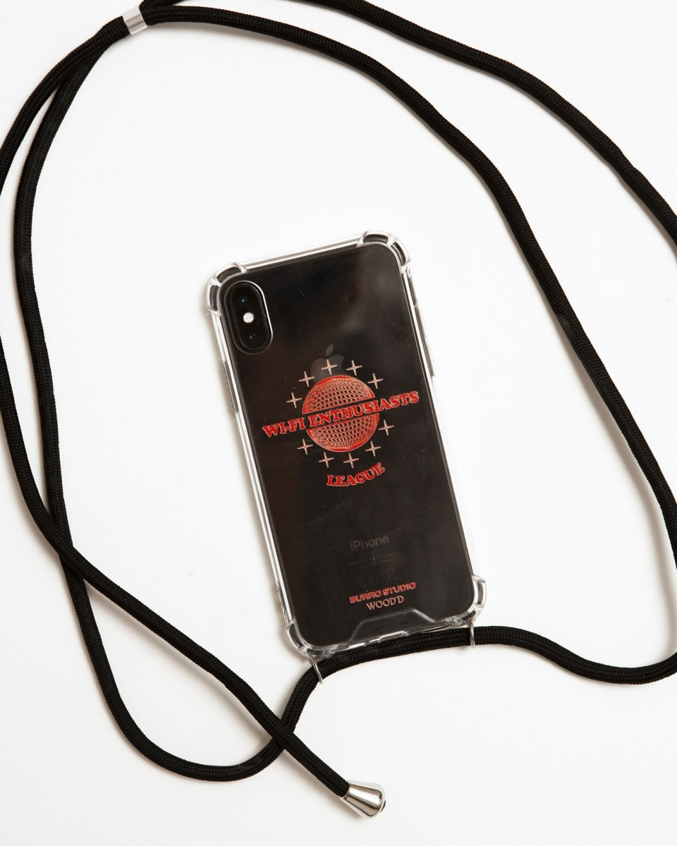 Wifi Enthusiasts Burro Studio x Wood'd iPhone 11 - black