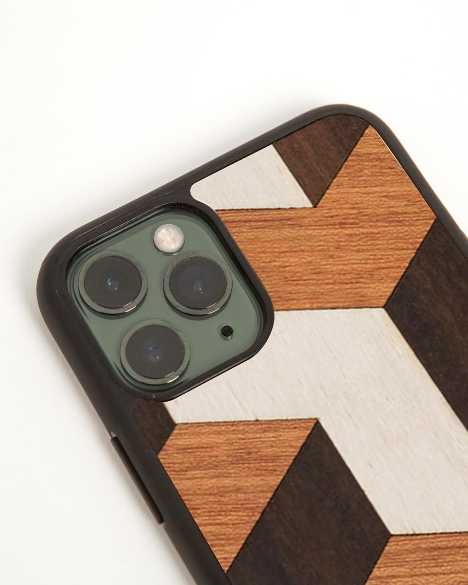 tumble iphone cover by wood'd - side