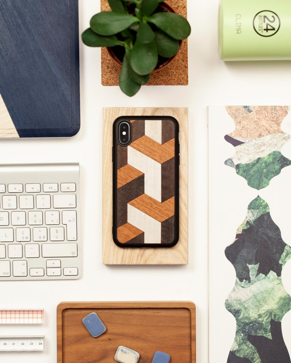 tumble iphone cover by wood'd - design