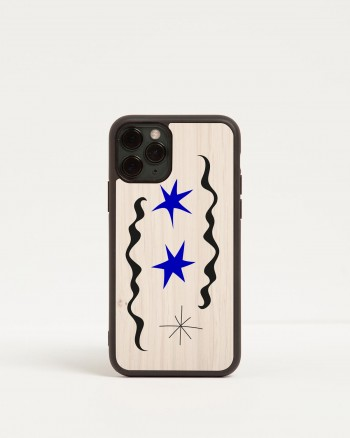 mirò wood'd iphone cover - front