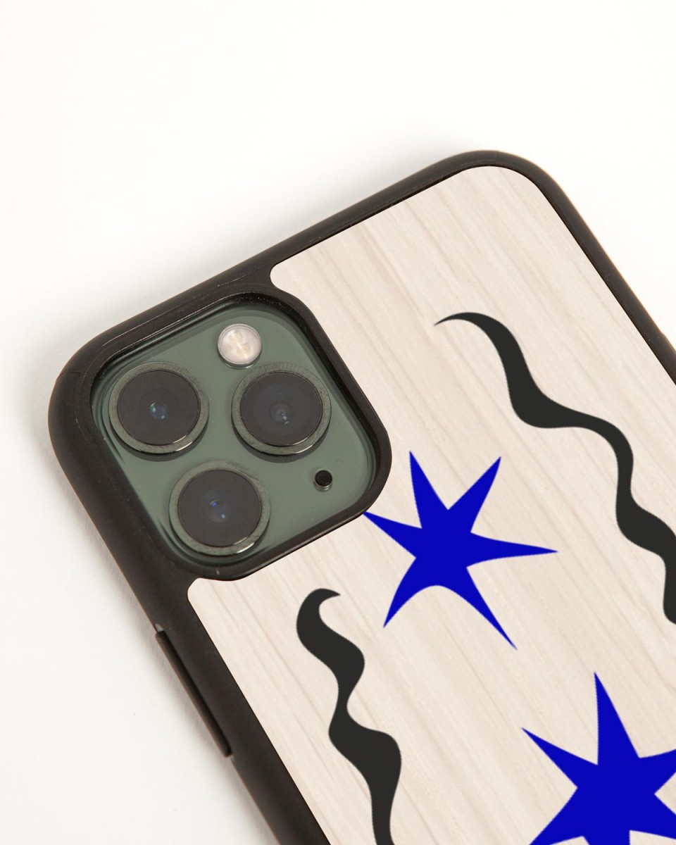 mirò wood'd iphone cover - side