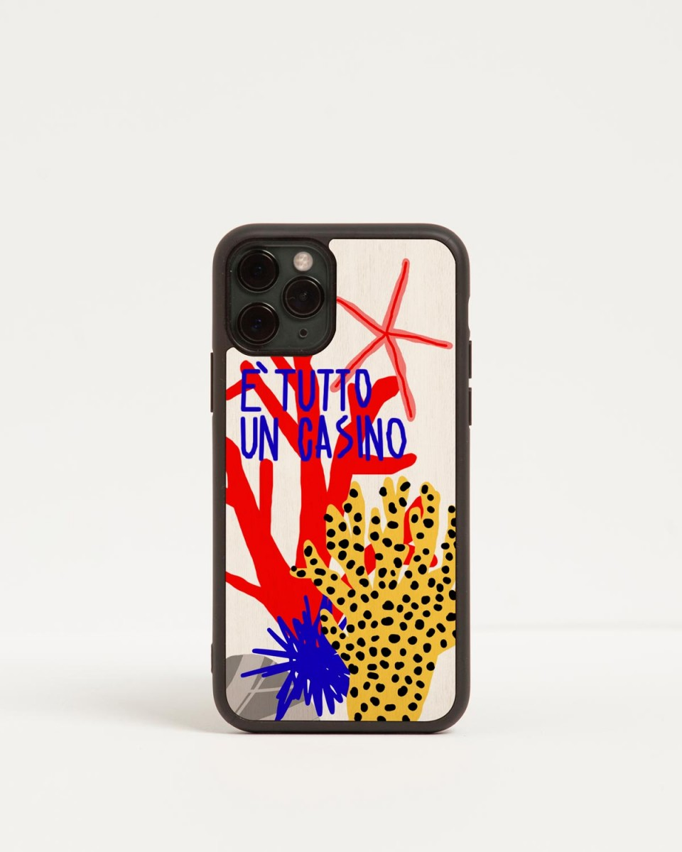 wood'd casino iphone case summer edition iphone 11 pro