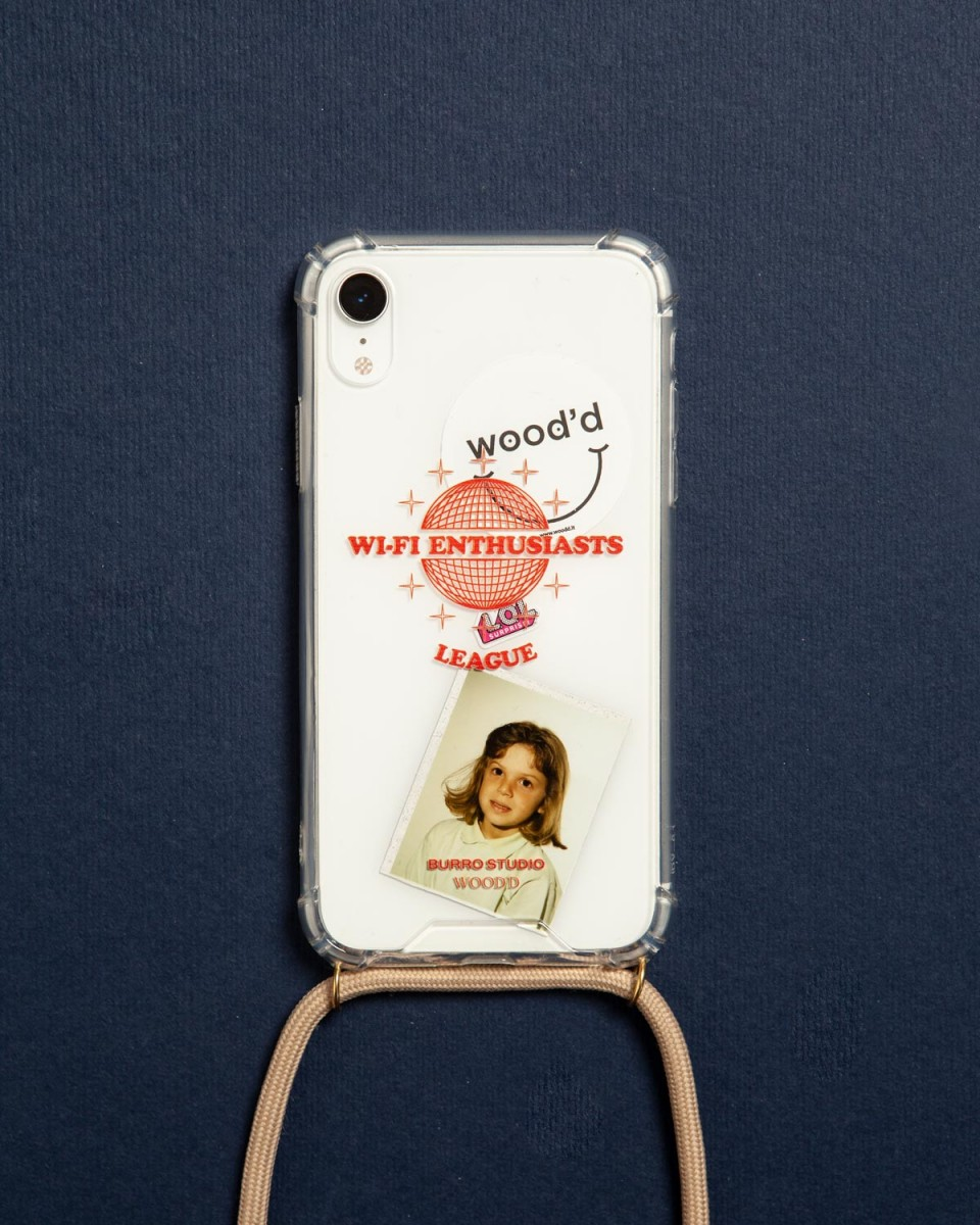 Wifi Enthusiasts Burro Studio x Wood'd iPhone xr