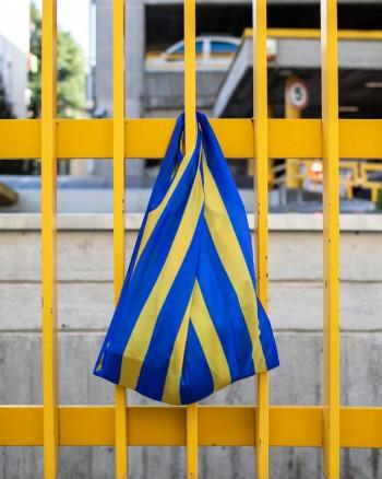 Stripes Blue Bag
