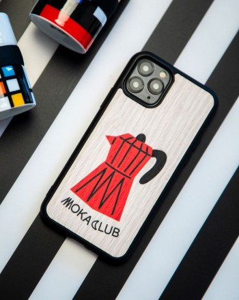 Moka Club iPhone Case by WOOD'D