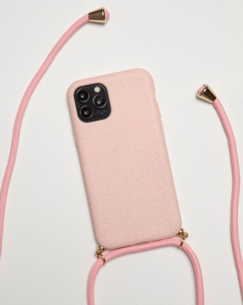 Neck Compostable Pink