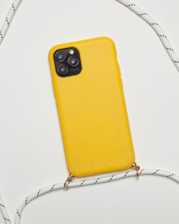 Neck Compostable Yellow