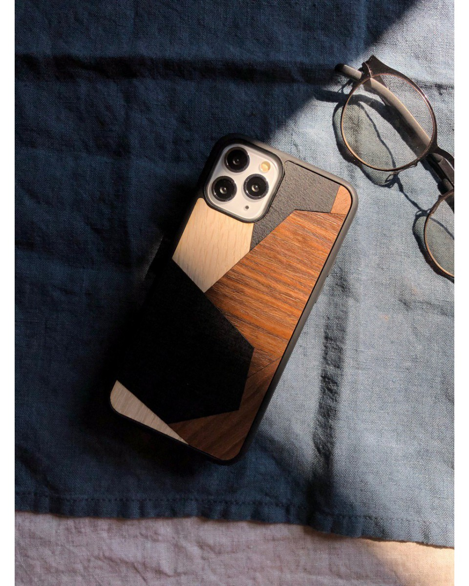 Cover in legno per iPhone_Quartz by Wood'd