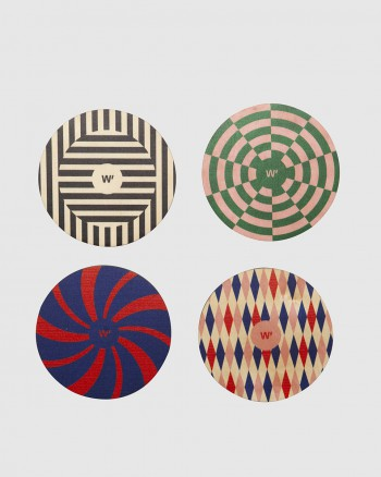 TRIPPY COASTERS SET