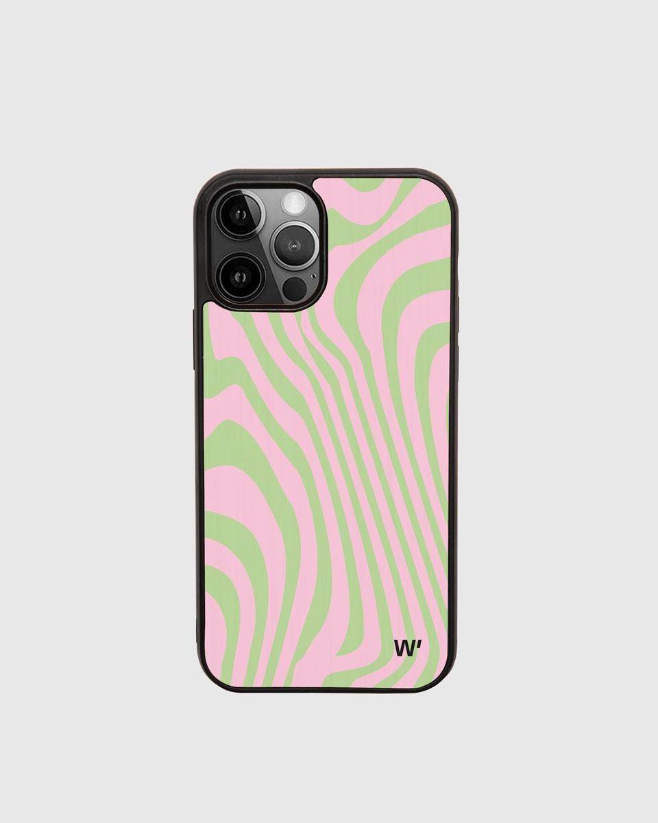 Moires Wood'd iPhone Case