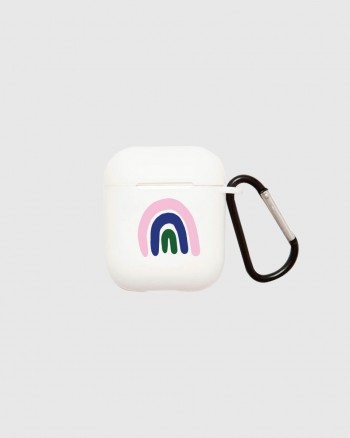 AirPods Case Rainbow White