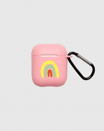 AirPods Case Rainbow Pink