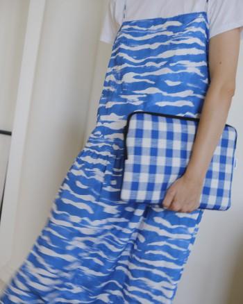 Patch Blue Macbook Case