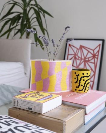 Funky Pink Vase