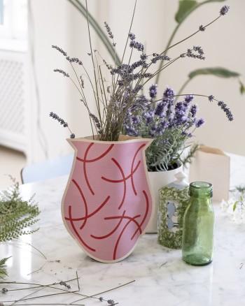 Pink Signs Vase